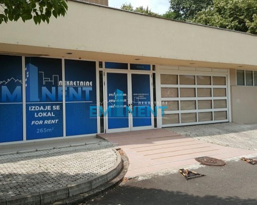 Poslovni prostor 265m² Blokovi Nehruova